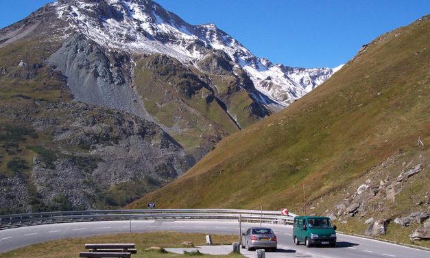 Met de wagen richting Oostenrijk