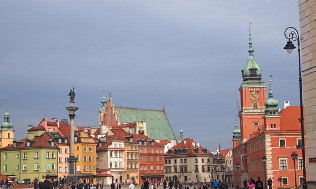 Warschau, een stad met een rijk verleden!