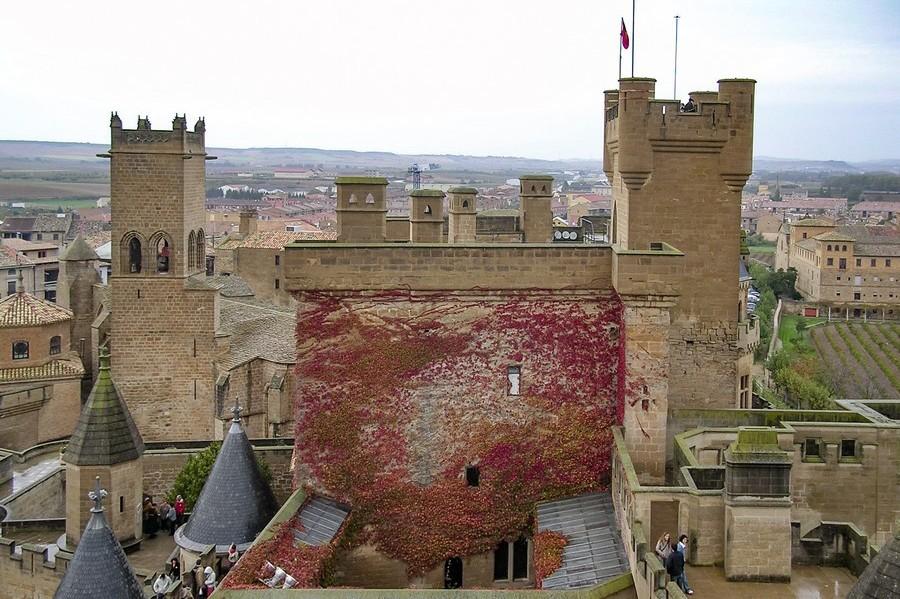 Spanje Navarra Castillo de Olite