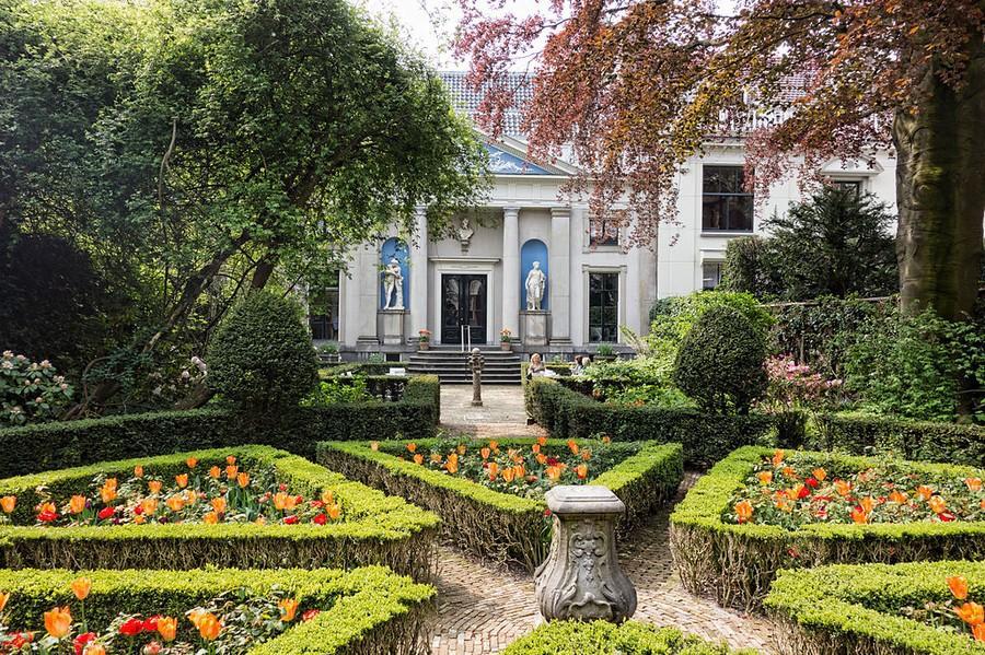 Amsterdamse tuin