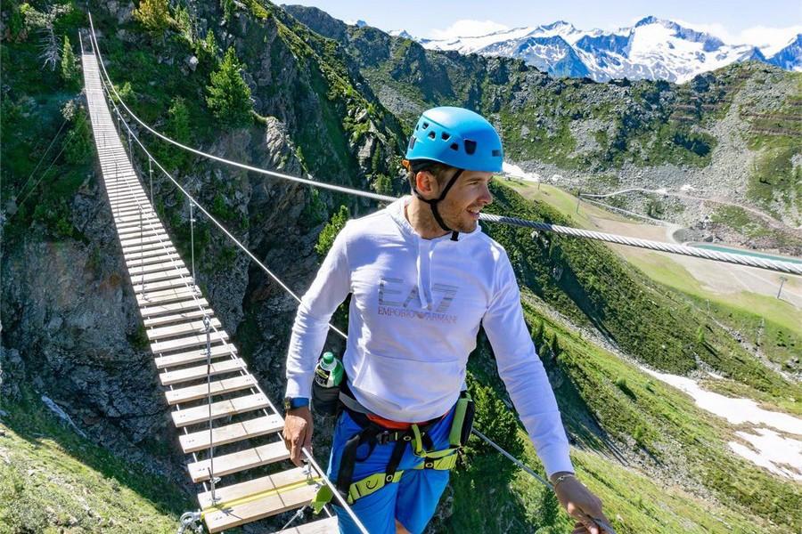 Klettersteigen in Zuid-Tirol