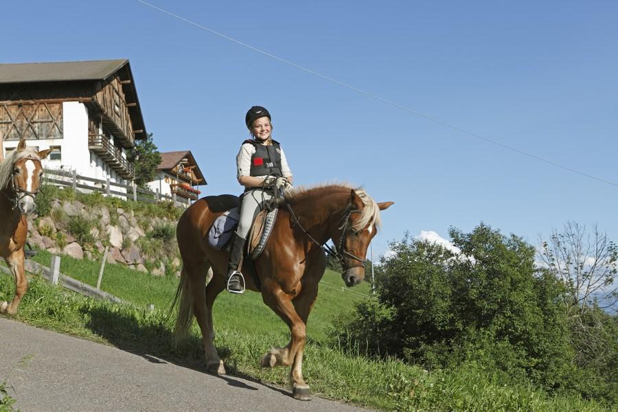 Paardrijvakantie Zuid-Tirol